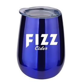 10 oz Stainless Steel Stemless Wine Glass