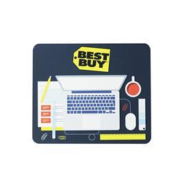 """8""""h x 9.5""""w x 1/8"""" Rectangular Mousepad"""