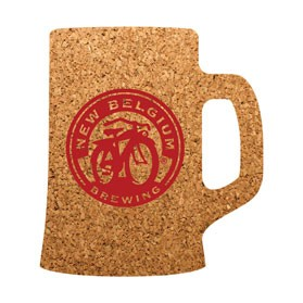 PCC107 Beer Mug Cork Coasters