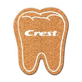 PCC111 Tooth Cork Coaster