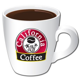 PTC107 Full Color Coffee Cup Coaster