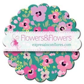PTC108 Full Color Flower Coaster