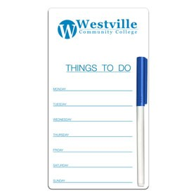 To-Do Write-On/Wipe-Off Board