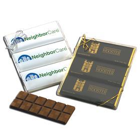 Full Color Holiday Chocolate Bar Gift Set