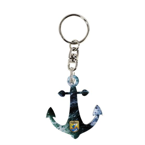 ACR-KC6 - Acrylic Key Chain - Up to 6 sq. inches