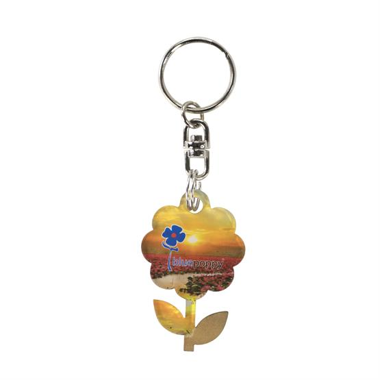 ACR-KC5 - Acrylic Key Chain - Up to 5 sq. inches