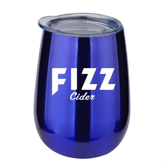 BTL106 - 10 oz Stainless Steel Stemless Wine Glass