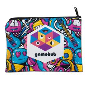 """6.5""""w x 4.5""""h Sublimated Zippered Pouch"""