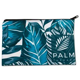 """8""""w x 5""""h Sublimated Zippered Pouch"""