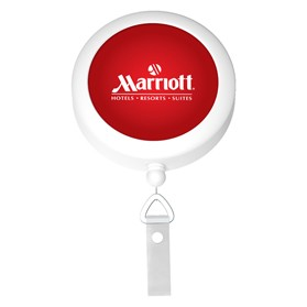 Round Badge Reel