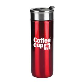 18 oz Stainless Steel Cup with Stopper