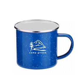 16 oz. Iron and Stainless Steel Camping Mug