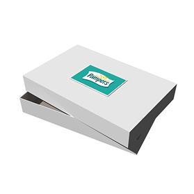 """17"""" x 11"""" x 2.5"""" White Apparel Debossed Box"""