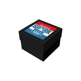 """4"""" x 4"""" x 3"""" Black Deluxe Gift Box"""