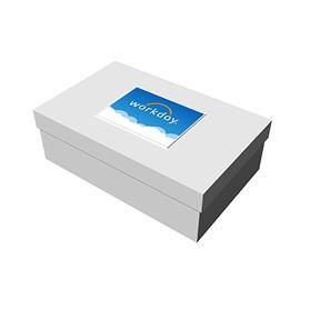 "19"" x 12"" x 6"" White Deluxe Gift Box"
