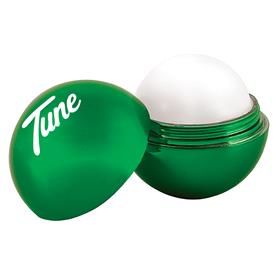 Metallic Finish Round Lip Balm