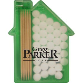 House Shaped Pick 'n' Mints