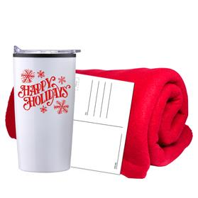 PROMO FLEECE BLANKET TUMBLER COMBO SET