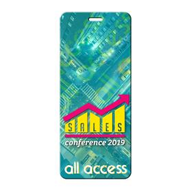 "Press Pass / Lanyard Card 3"" x 7"""