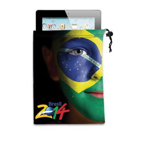 Ipad/Tablet Microfiber Cloth Pouch