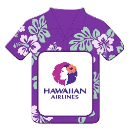 Hawaiian Shirt Magnet