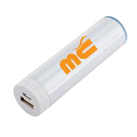 Round Plastic Mobile Power Bank Charger