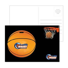 Post Card With Full-Color Basketball Luggage Tag