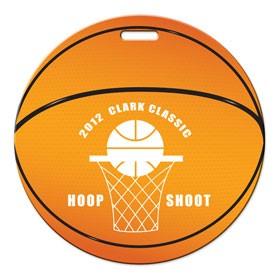 Stock Basketball Luggage Tag