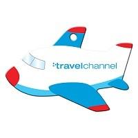 Blue Plane Luggage Tag