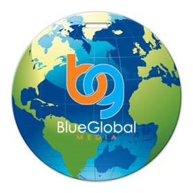 Globe Shaped Luggage Tag