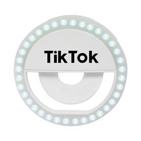 LED Clip On Virtual Online Meeting / Selfie Ring Light