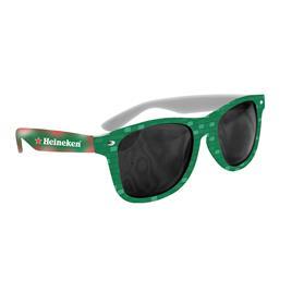 Full Color Imprint Custom Miami Sunglasses