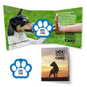 Tek Booklet 2 with Paw Print Magnet
