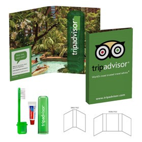 Tek Booklet with Travel Toothbrush
