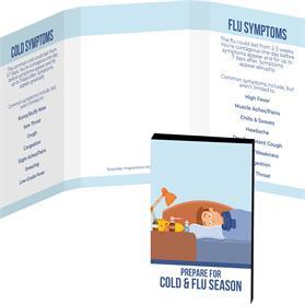 Awareness Tek Booklet with Bling Credit Card Antibacterial Hand Sanitizer
