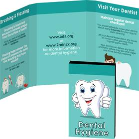 Awareness Tek Booklet with Dental Floss
