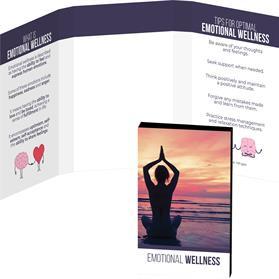 Awareness Tek Booklet with Mini Hand Sanitizer Spray Keychain