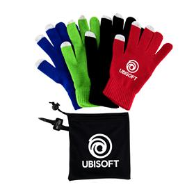 Texting Gloves with Pouch